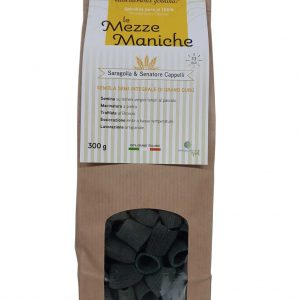 Mezze Maniche Artigianali alla Spirulina 100% made in Cilento