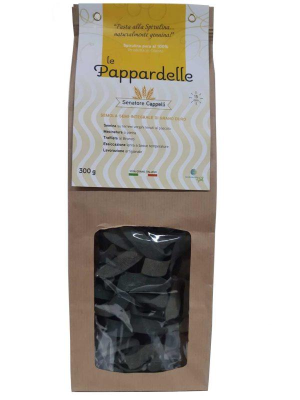 Pappardelle Artigianali alla Spirulina 100% made in Cilento